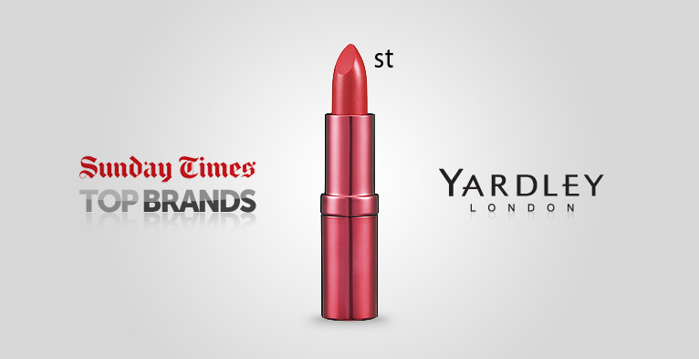 Yardley Sunday Times top brands