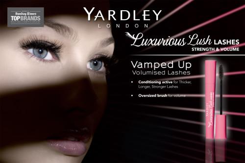Yardley Luxurious Lush Lashes Mascara Header