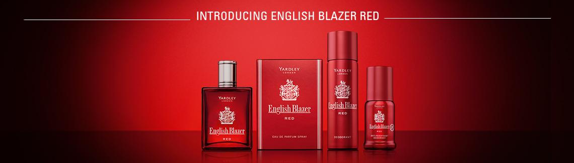 English Blazer Red